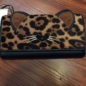 Kate Spade NWT Leopard wallet